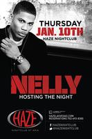 Nelly Hosts The Night at HAZE Nightclub
