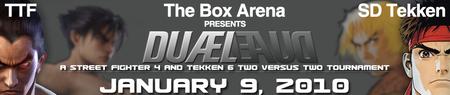 Duæl 2v2 Tournament -  Street Fighter 4 and Tekken 6 -...
