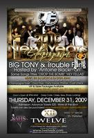 BIG TONY & TROUBLE FUNK New Year's Eve Extravaganza @...