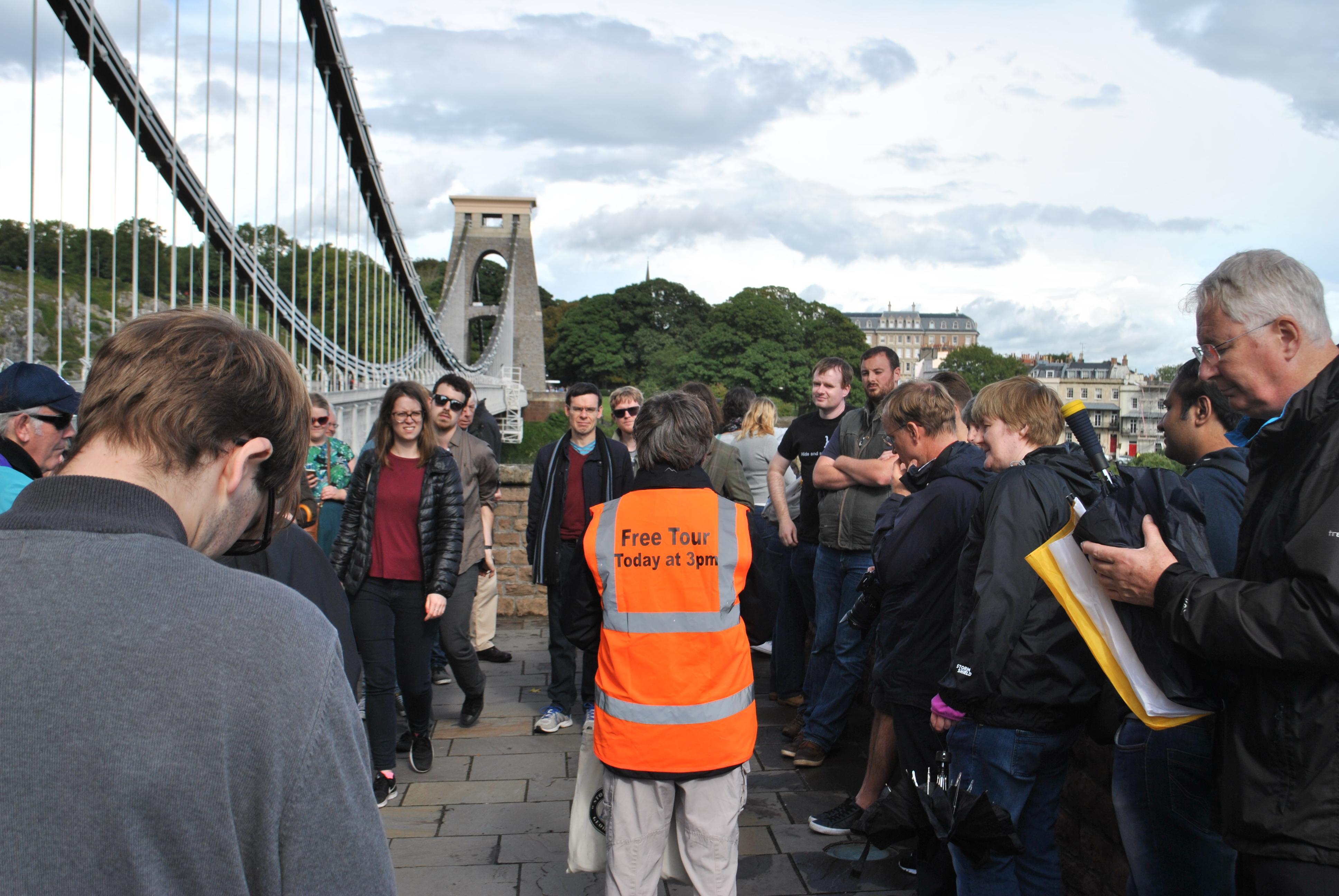 Free Bridge Tour Summer 2020 - Meet at the Clifton Toll Booth