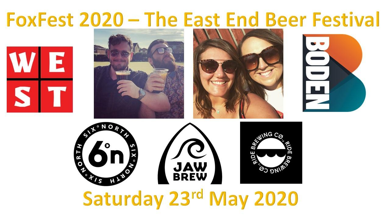 FoxFest 2020 - The East End Beer Festival