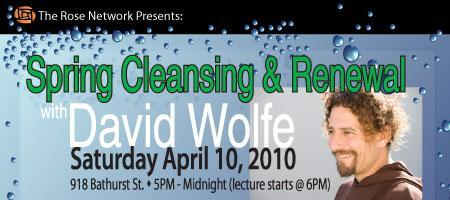 Spring Cleansing and Renewal with David Wolfe