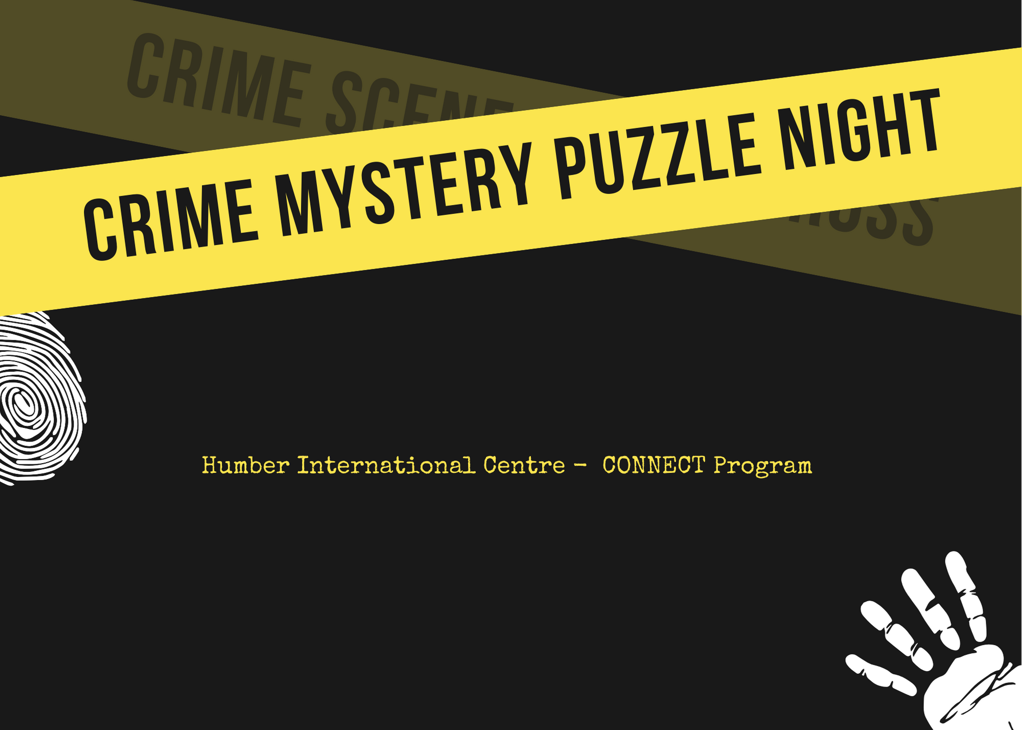 CONNECT - Mystery Puzzle Solving Night (Lakeshore Campus)