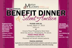 3rd Annual Marion Luckers Kidney Foundation Benefit...