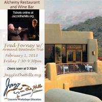 Armand Boatman Trio with special guest, Fred Forney