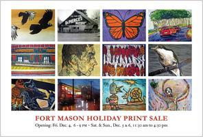 Fort Mason Printmakers Annual Holiday Sale Grand...
