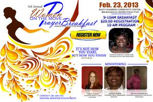 3rd Annual Created to Win Prayer Breakfast