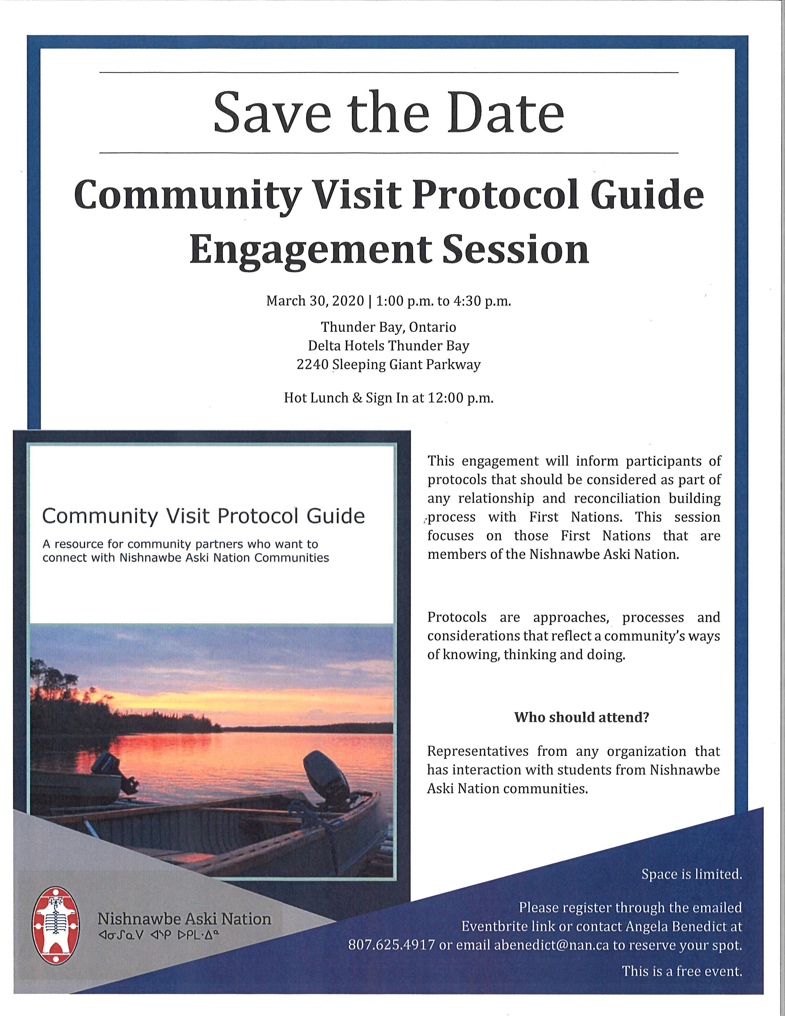 Thunder Bay - NAN Community Visit Protocol Guide Engagement Session