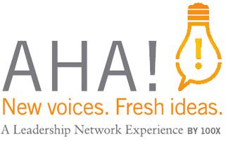 Aha!  New Voices.  Fresh Ideas.