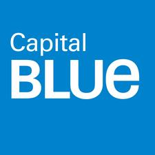 Capital Blue at the Promenade Shops at Saucon Valley logo