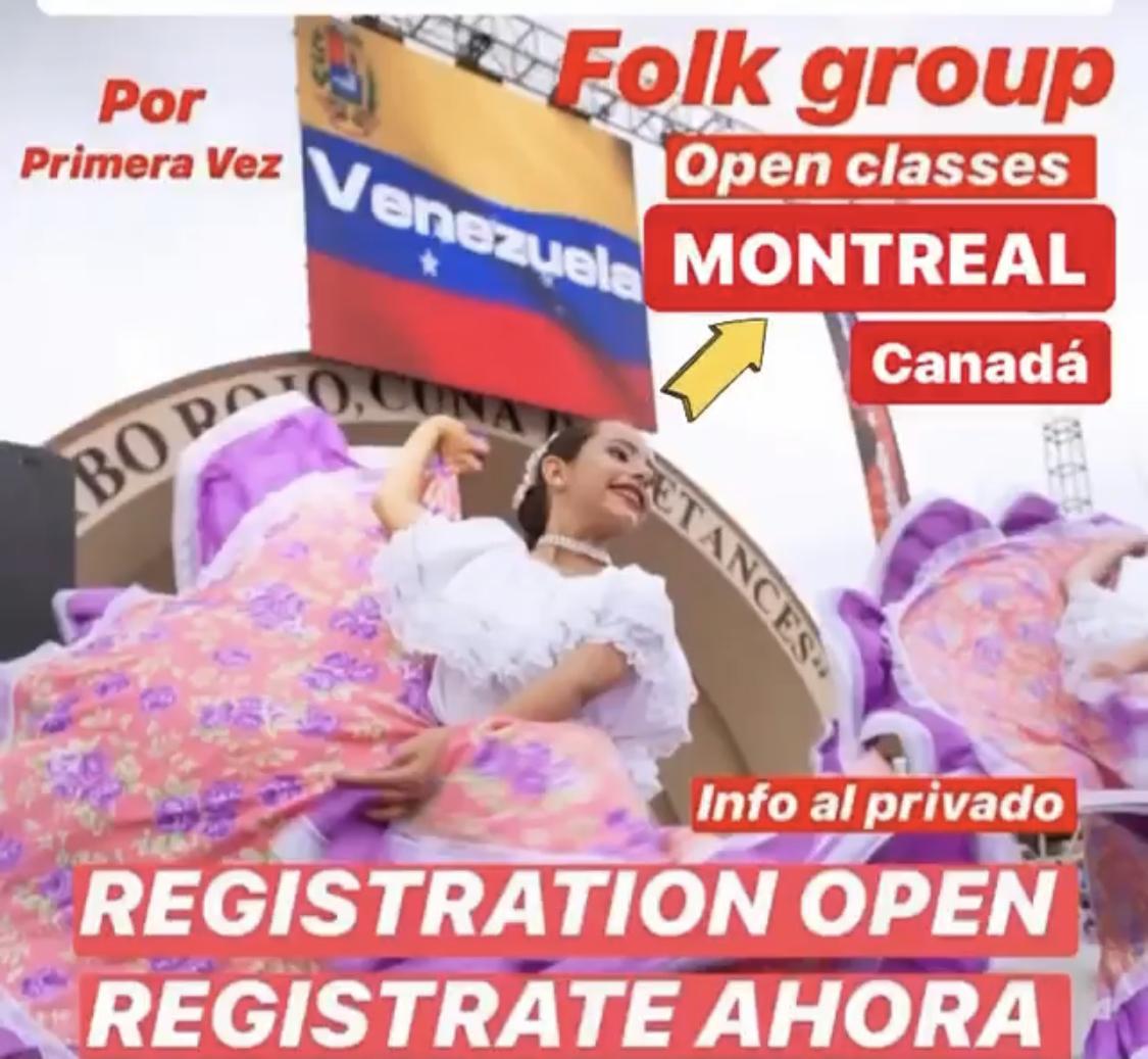 Clases de Danza Folclorica Venezolana en Montreal - Canada