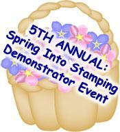 5TH ANNUAL: Spring into Stamping Event
