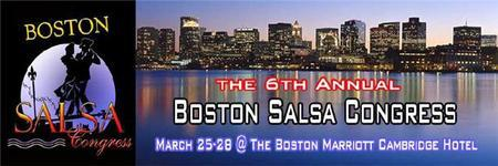 The 6th Annual Boston Salsa Congress