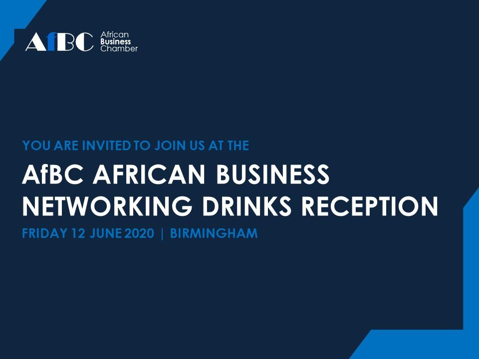 AfBC African Business Networking Drinks Reception