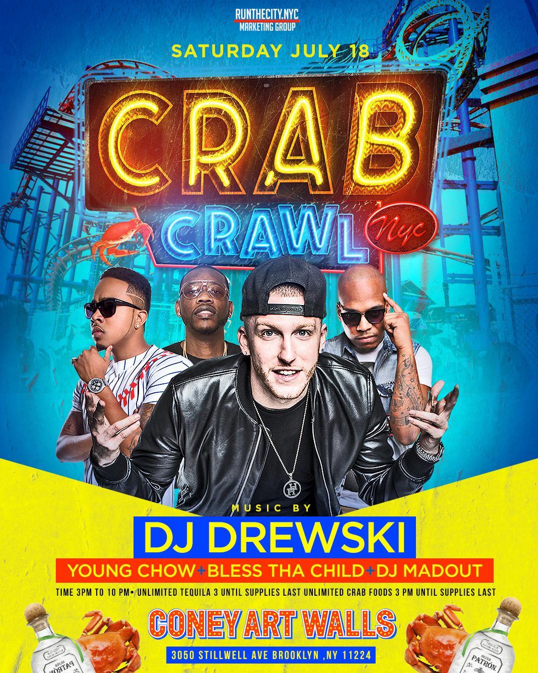 CRAB CRAWL NYC