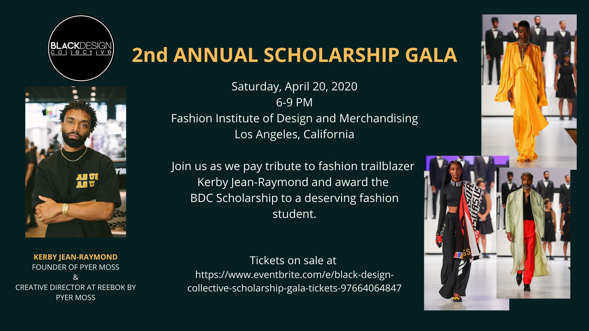 Black Design Collective Scholarship Gala 19 Apr 2020