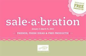Stampin' Up! Sale-A-Bration Open House 2010