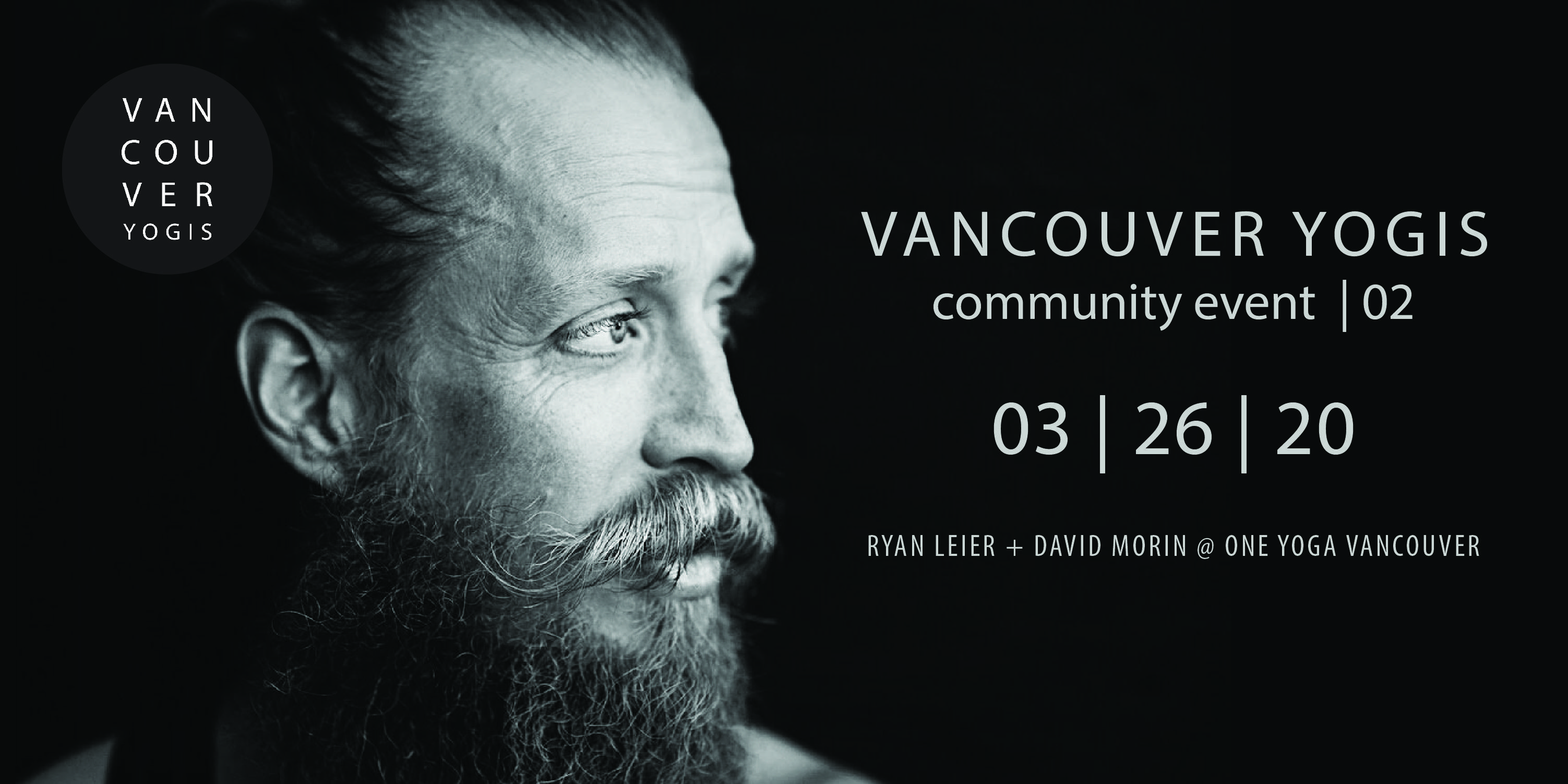 Vancouver Yogis Event # 2 - Ryan Leier and David Morin at One Yoga