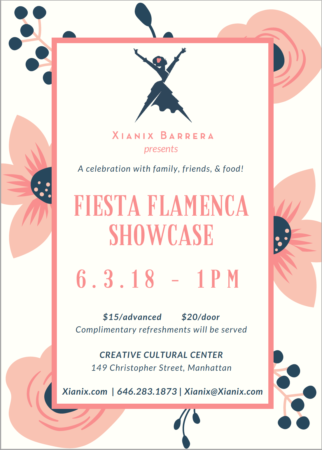 Fiesta Flamenca 5.0 -Annual Flamenco Student Showcase
