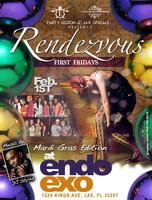 Rendezvous: First Fridays (Mardi Gras Edition)