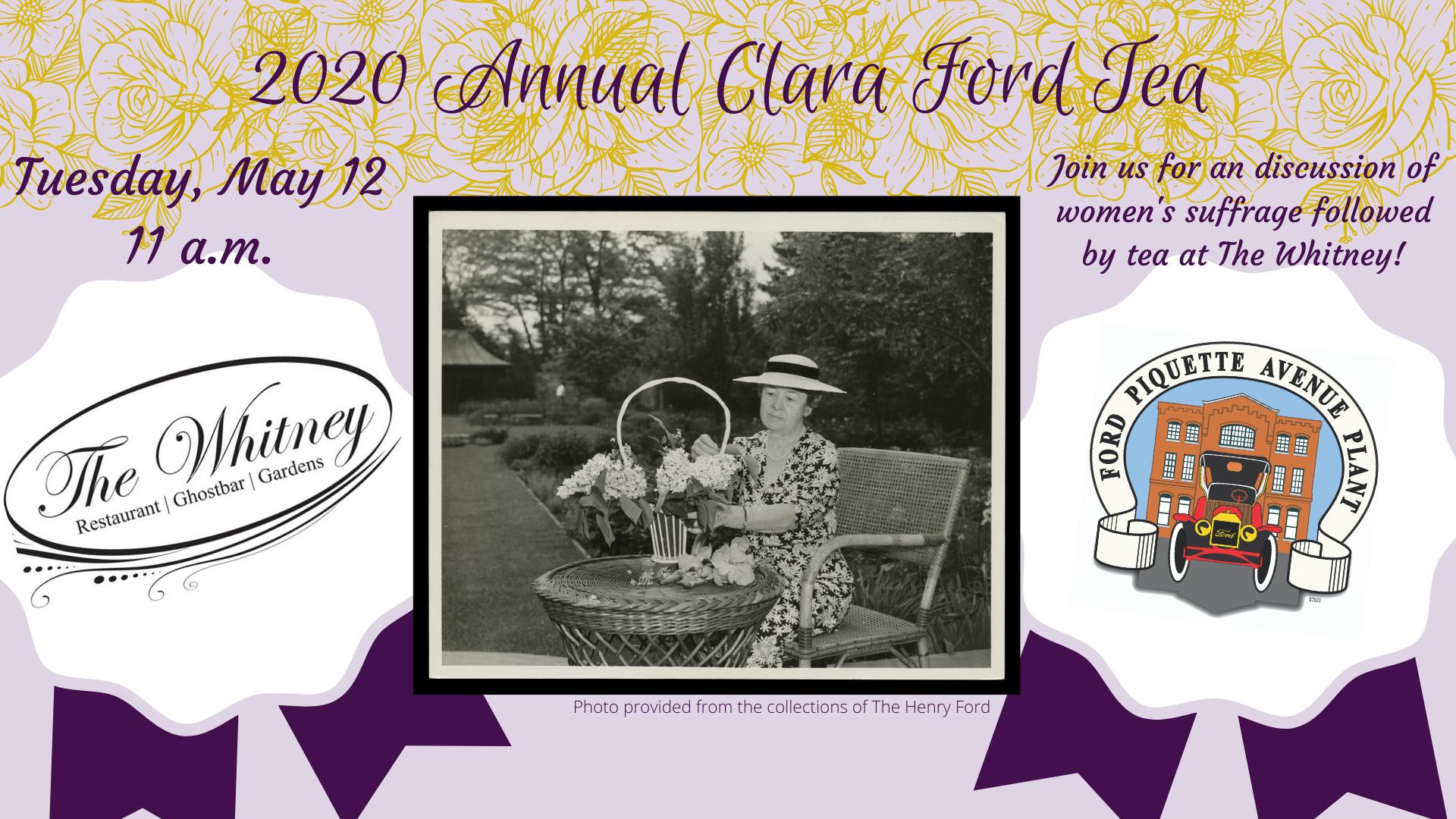 2020 Clara Ford Tea
