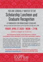 2020 Renaissance Scholars Luncheon - CANCELLED DUE TO...
