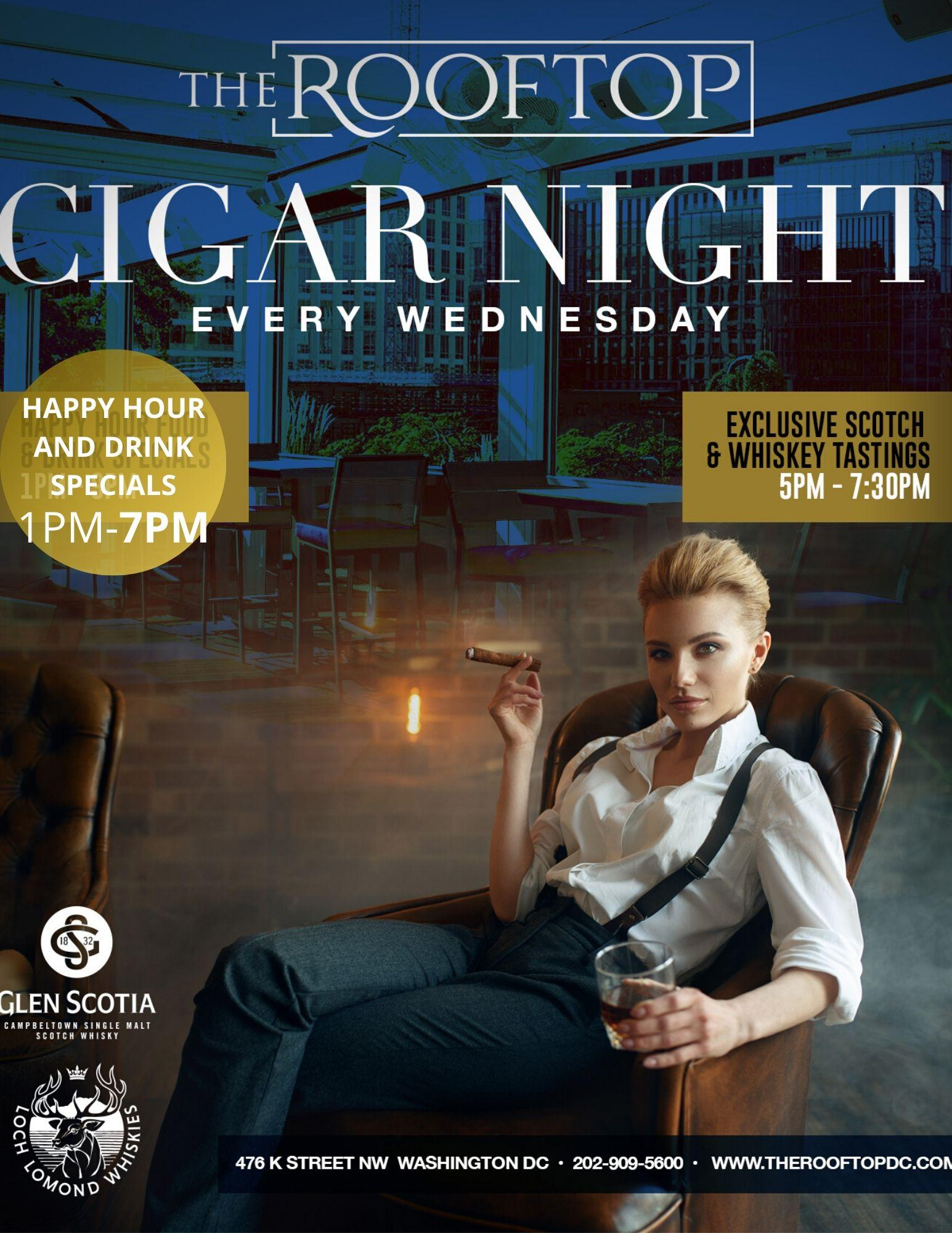 Cigar & Alcohol Tasting Every Wednesday!