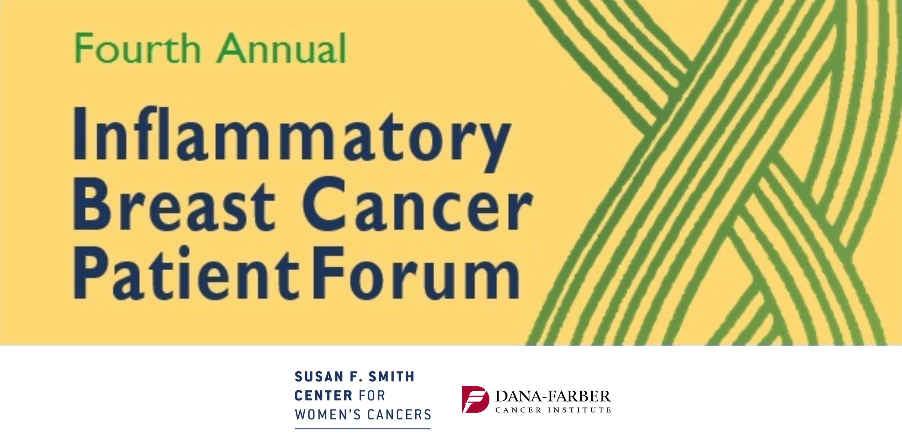 Fourth Annual Inflammatory Breast Cancer Patient Forum