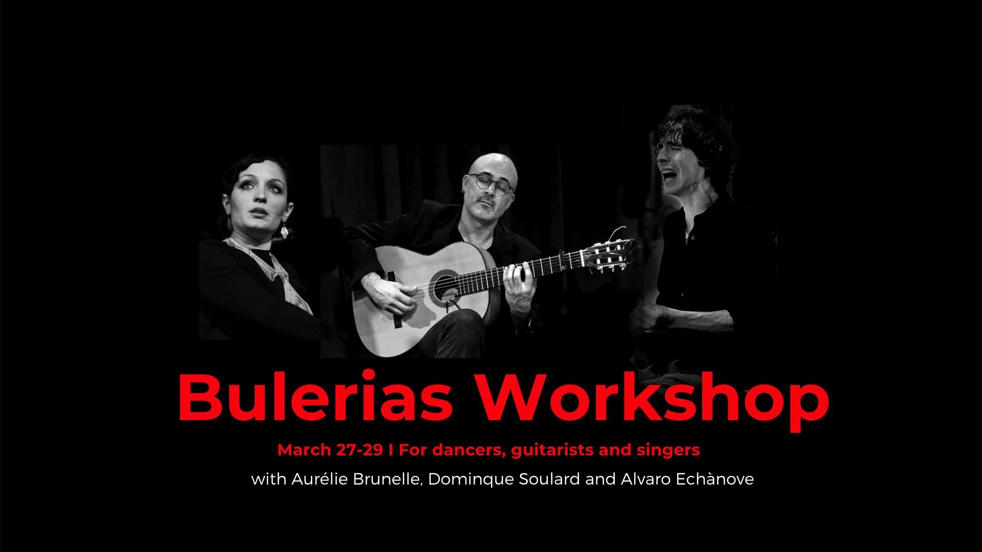 Bulerias Workshop (postponed until further notice)