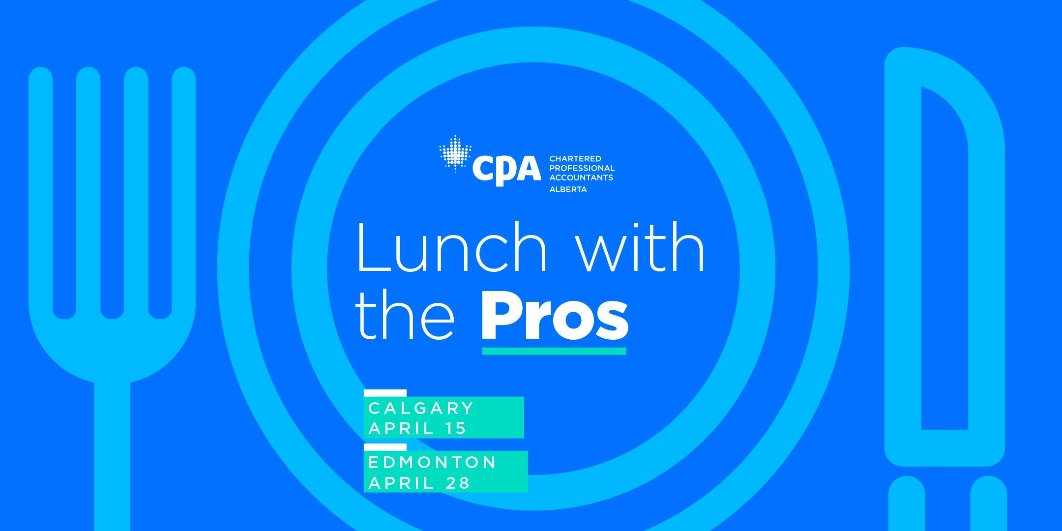 Lunch with the Pros Calgary