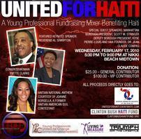 """United for Haiti"" Fundraising Mixer"