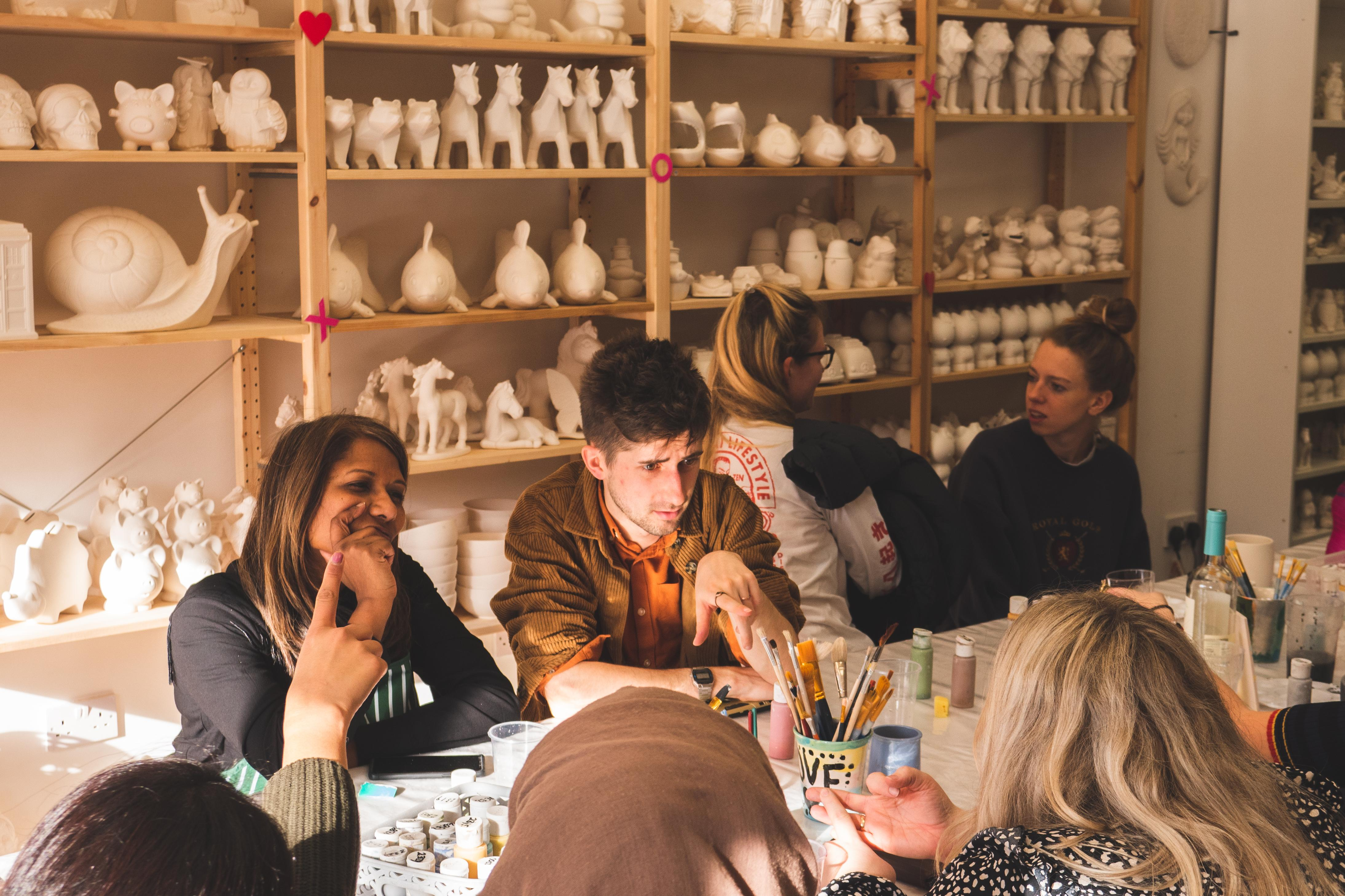 Pottery Painting - Thursday BYOB Session