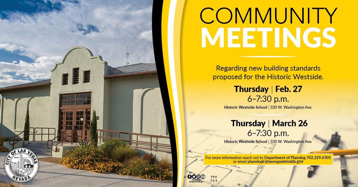 Historic Westside Community Meeting