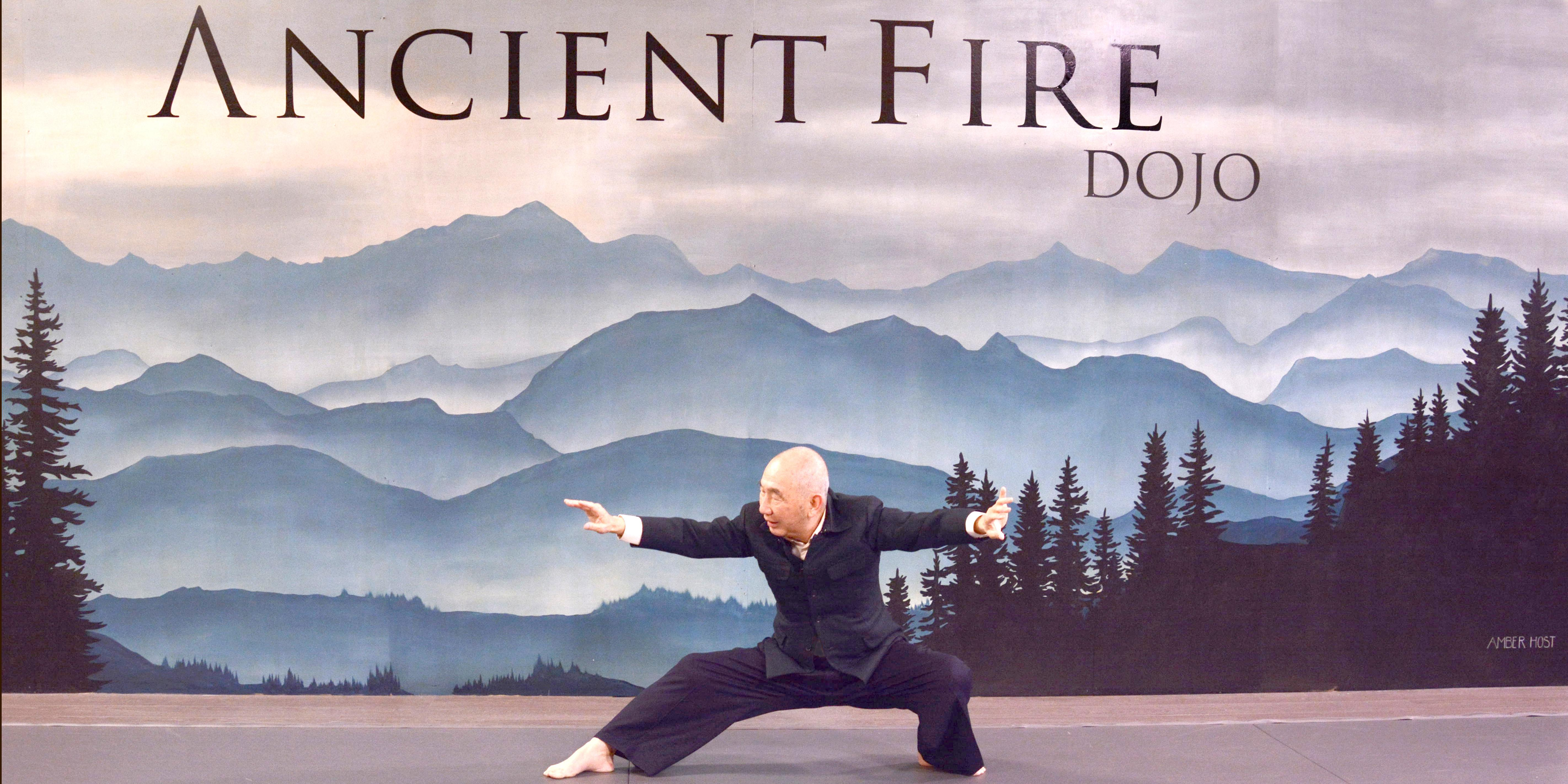 Free Tai Chi introduction and meditation with Master Tek at Ancient Fire