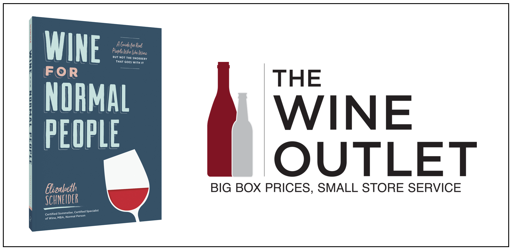Wine for Normal People with Elizabeth Schneider at the Vienna Wine Outlet