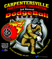 3rd Annual Carpentersville IAFF Local 4790 Dodgeball...