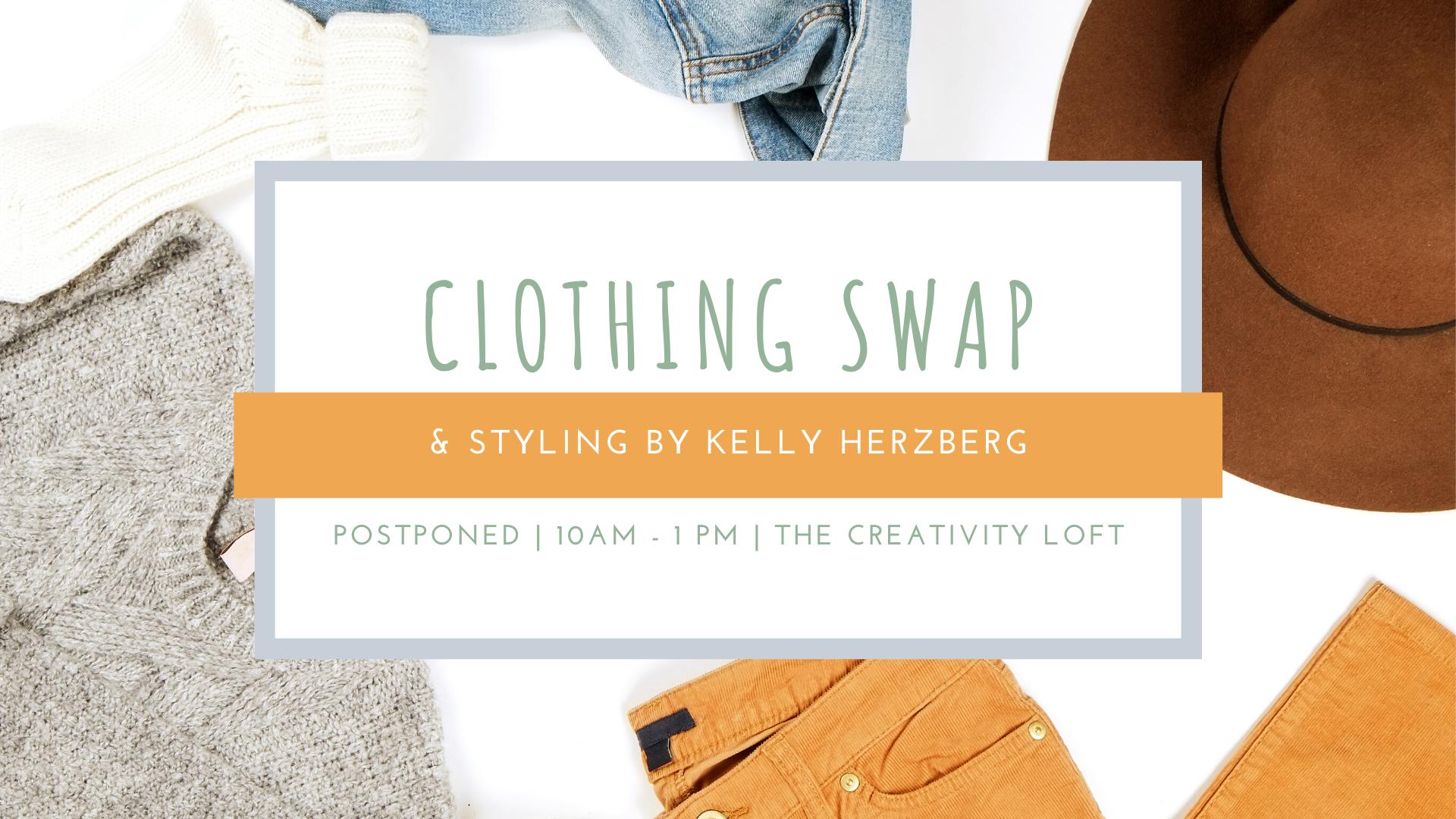 Clothing Swap Postponed