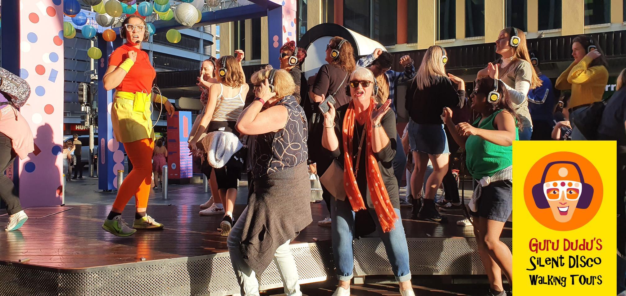 Guru Dudu's Silent Disco Walking Tour of Adelaide - April 3