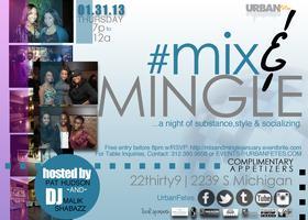 #MixandMingle