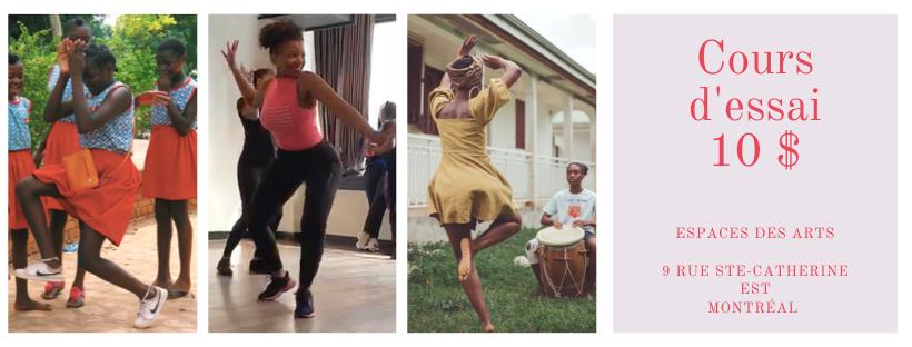 Cours d'essai Afrobeats pour les femmes
