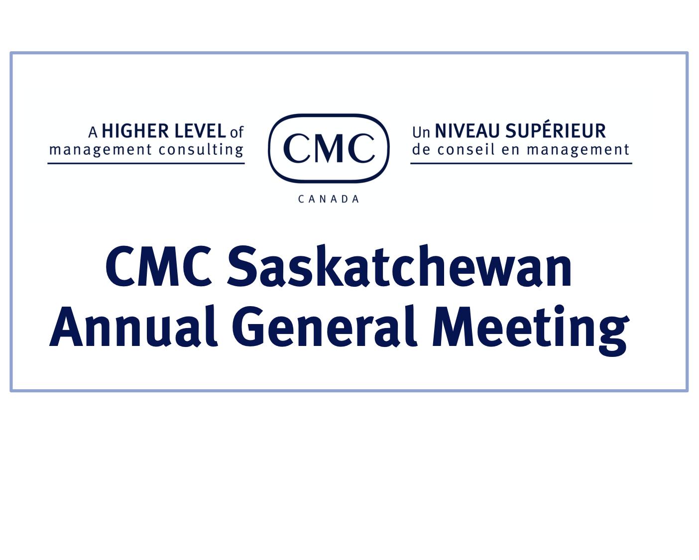 CMC-Saskatchewan Annual General Meeting