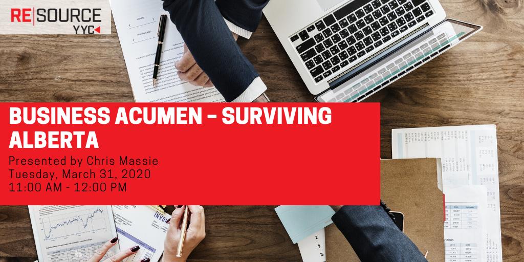 Business Acumen – Surviving Alberta
