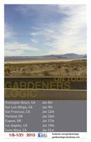 Gardeners Logic Tour 2013