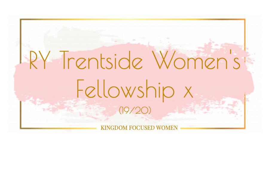 RY Trentside Women's Fellowship: Transparent Room.
