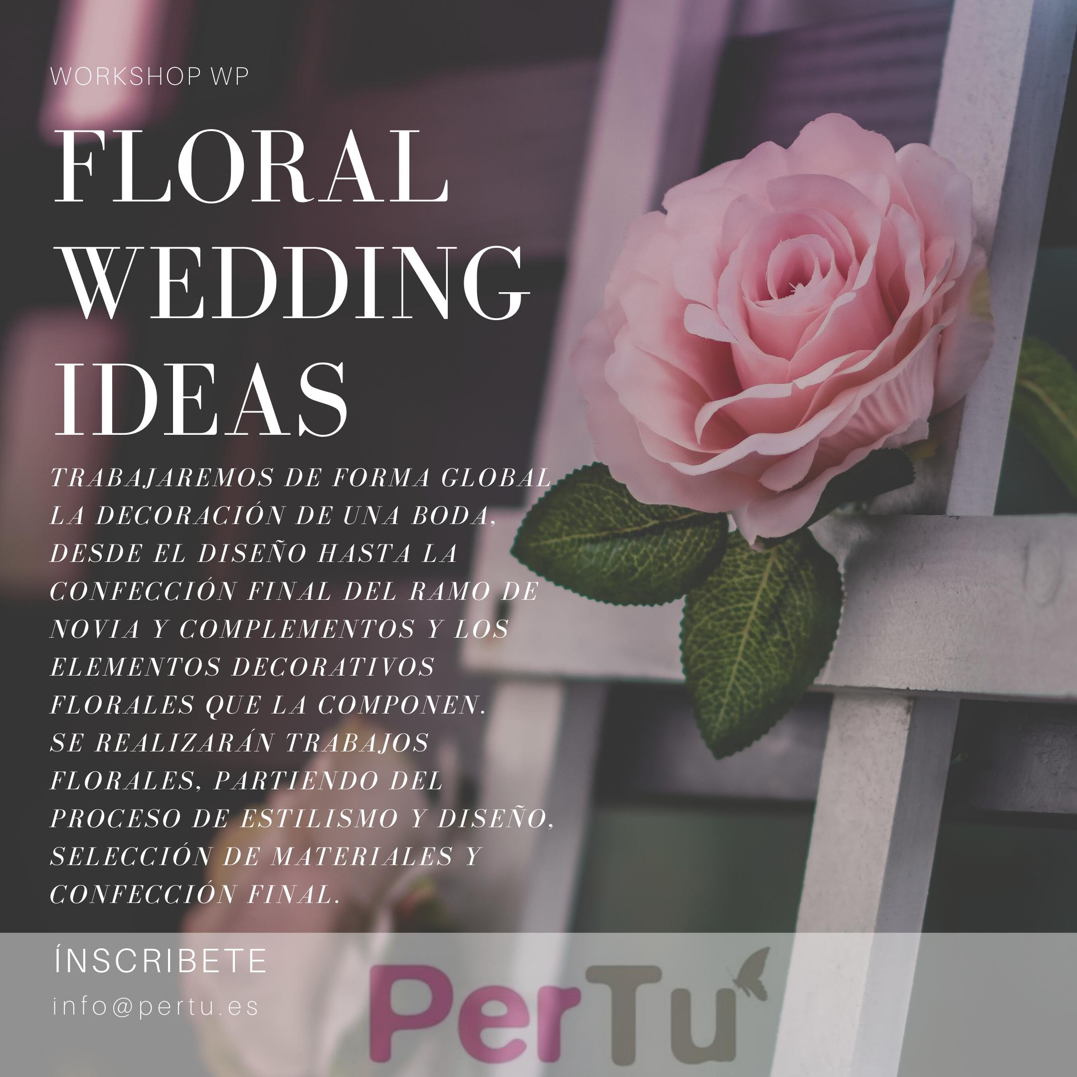 Curso WP Floral wedding ideas I