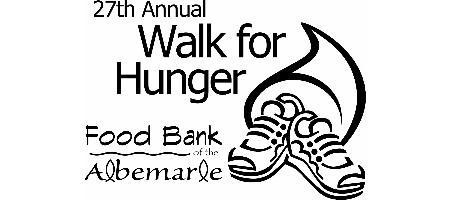 Walk for Hunger 2010, Food Bank of the Albemarle