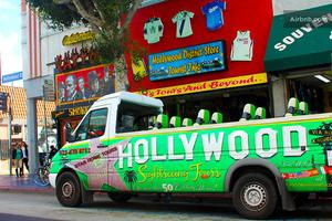 Hollywood Open Air Bus Tour - 2 Hours - 12pm