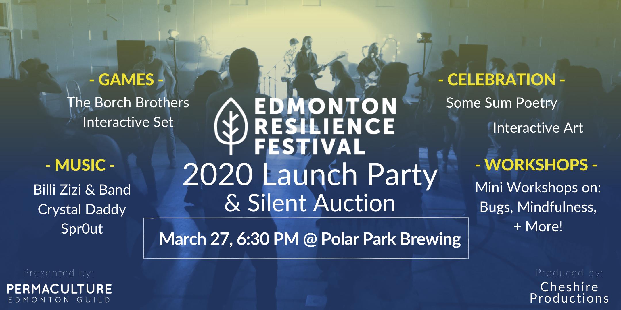 Edmonton Resilience Festival Launch Party 2020