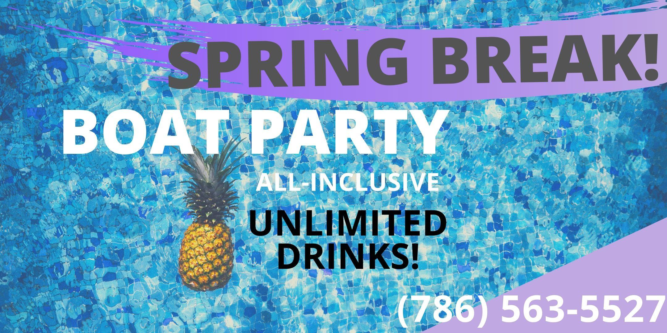 #BOAT PARTY! :) All Inclusive!