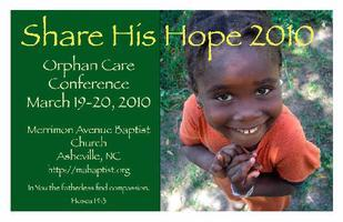 Share His Hope 2010...